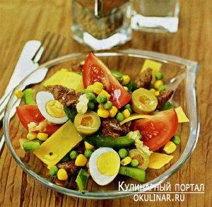 салат смешанный рецепт фото