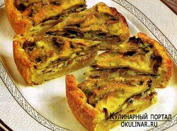 Рецепт пирога пирог с грибами