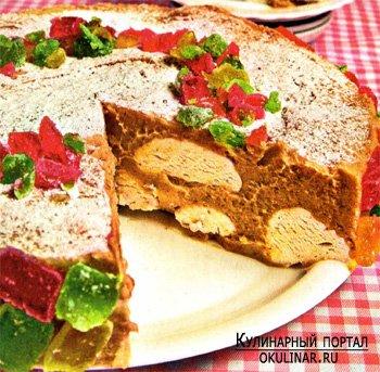 Торт-мороженое «Зефирное лакомство»