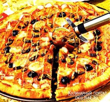 Пицца «Флоренция». Рецепт с фотографией