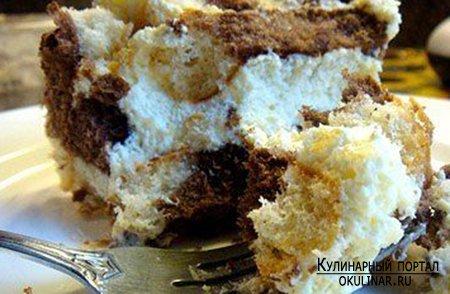 Торт без выпечки - Рецепт приготовления