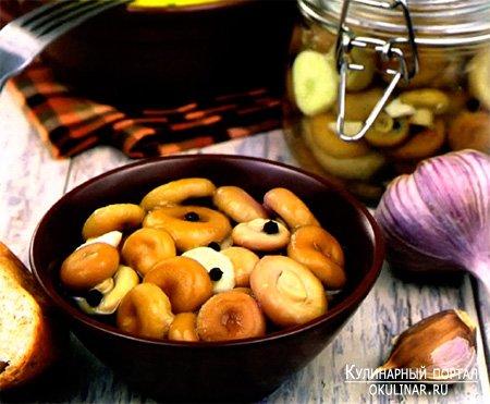 Соленые волнушки - Рецепт приготовления