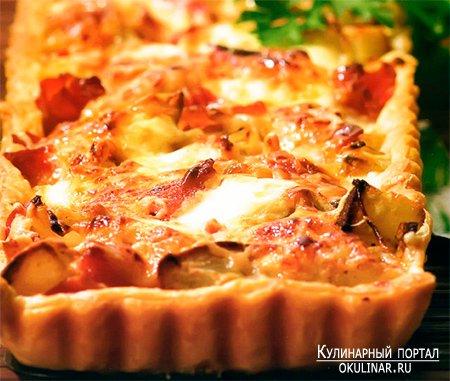 открытый картофельный пирог рецепт фото