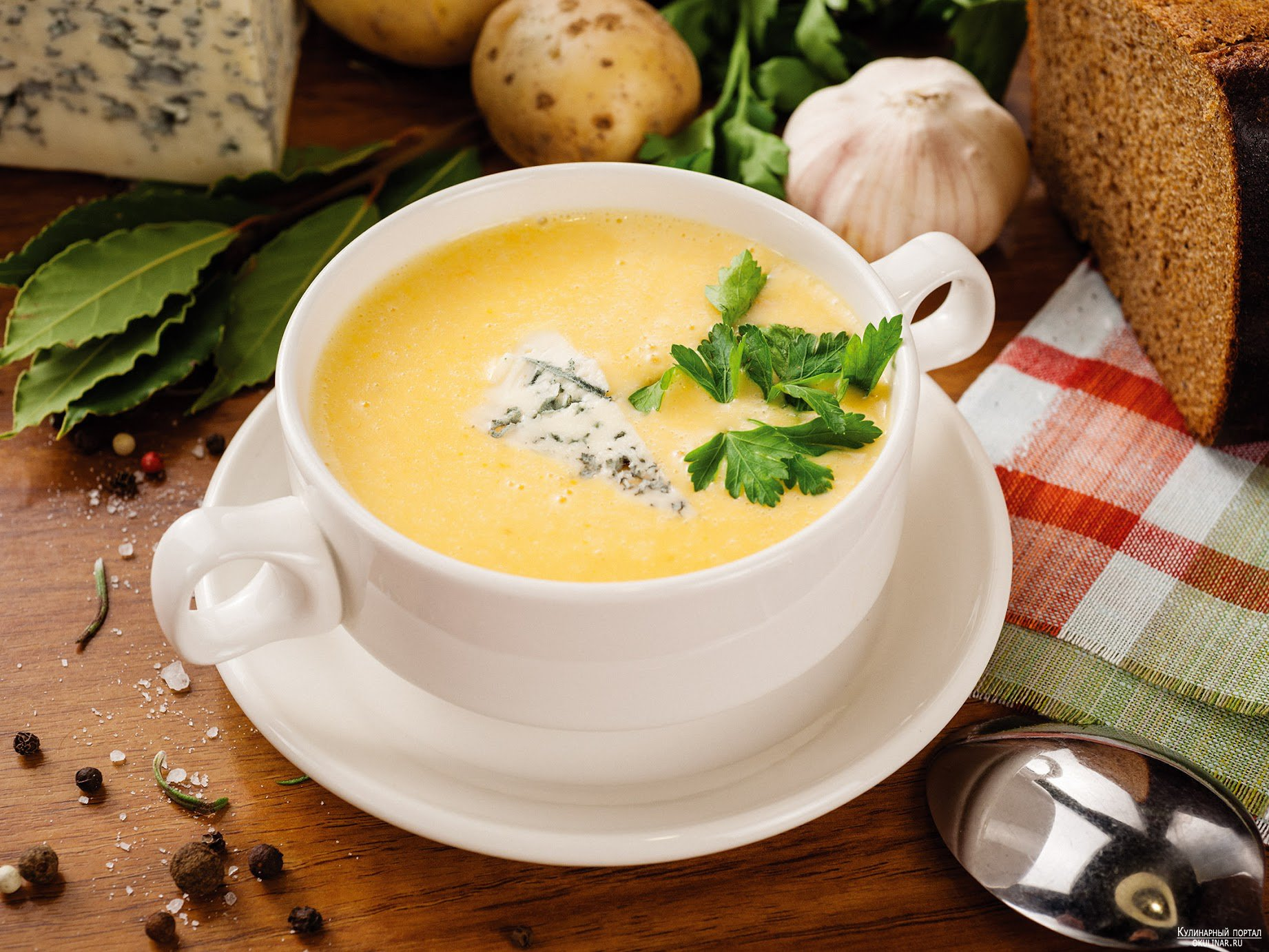 крем супы. простые рецепт